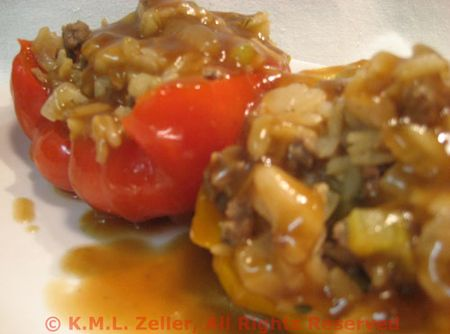 Oriental Stuffed Peppers