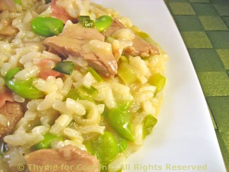 Risotto with Lamb and Fava Beans
