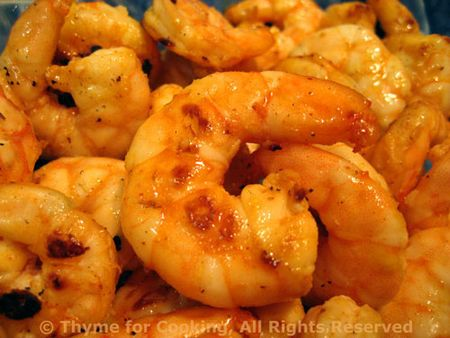 Grilled Lemon Shrimp