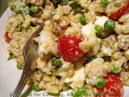 Tuna-Barley-Salad