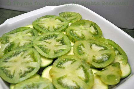Courgette Tomatoes