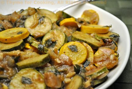 Moroccan Courgette