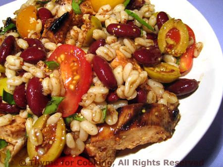 Barley Chicken Salad