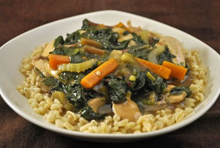 Chicken with Chard