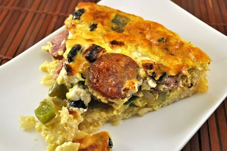 Slice of Med.Quiche