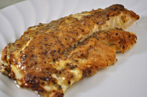 Grilled cod with horseradish mustard sauce thyme for for Grilled cod fish recipe