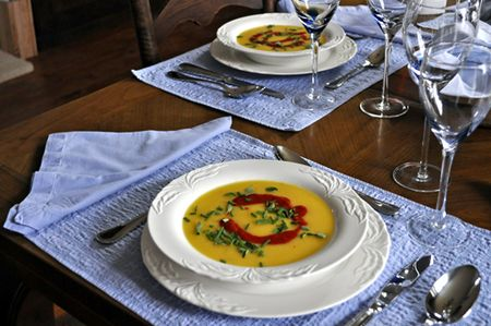 Yellow Tomato Soup