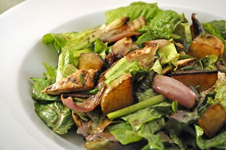 Chicken and Shallot Salad