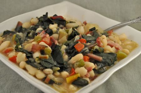 White Beans with Chard