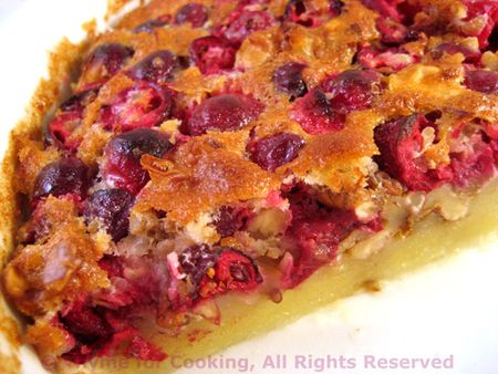 Cranberry Clafoutis - Thyme for Cooking, Blog
