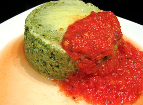 Spinach Timbale