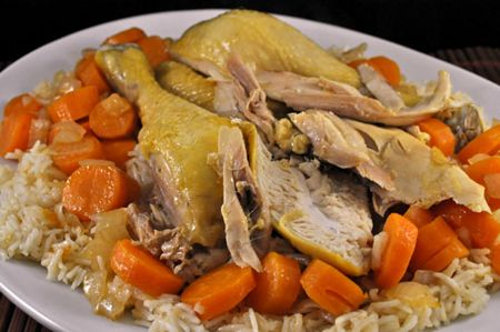 Braised Chicken and Rice